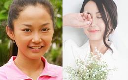 Nhan sắc thay đổi ngoạn mục của nữ diễn viên thủ vai Hạnh Cận phim Kính vạn hoa