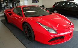 Ferrari 488 Spider màu đỏ hơn 20 tỷ đồng ở Hà Nội