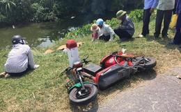 Xe tải chở cơm tông 2 nữ sinh tử vong trước khi lao xuống sông
