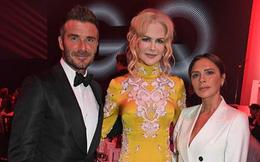 Đứng chung một khung hình, Victoria Beckham lọt thỏm bên cạnh Nicole Kidman
