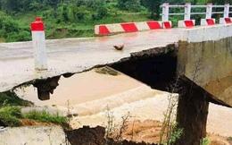 """Cầu mới khánh thành bị sạt lở còn lớp nhựa """"mỏng như bánh tráng"""": Báo cáo của Ban quản lý dự án viết gì?"""