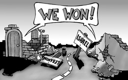 """Vở kịch chiến tranh: Quân đội Israel và lực lượng Hezbollah đang """"diễn"""" cho thế giới xem?"""
