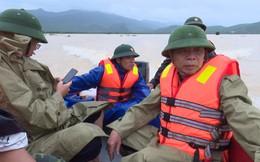 Phó chủ tịch cùng đoàn cán bộ huyện gặp nạn khi tiếp cận người dân vùng lũ