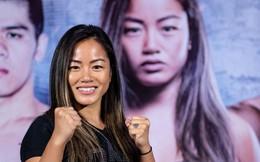 Nữ võ sĩ xinh đẹp người Mỹ hào hứng với trận đấu của tuyển Việt Nam, gửi lời chúc rành rọt bằng tiếng Việt tới thầy trò Park Hang-seo