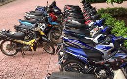 Nhóm trai làng lập băng nhóm, trộm hàng loạt xe máy của dân, trị giá gần 400 triệu đồng