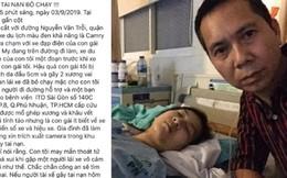 Bố lên mạng truy tìm kẻ đâm con gái rồi bỏ chạy và lời cảm ơn tới người tài xế vô danh