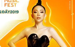 """Tóc Tiên trở thành """"linh hồn"""" của đêm nhạc quy tụ dàn sao lớn nhất Việt Nam năm 2019"""