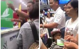 Bay Bamboo Airways tới Đà Lạt nhưng bị hạ cánh ở Cam Ranh: Khách bức xúc vây quầy vé