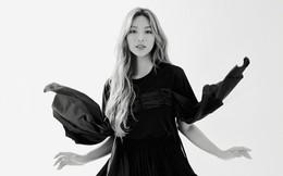 Siêu mẫu Khả Trang khoe vẻ đẹp cuốn hút khi xuất hiện trên báo Hàn