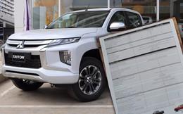 Mitsubishi Triton 2019 tại Việt Nam lộ thông số kỹ thuật: Nhiều khách hàng thất vọng vì thiếu trang bị an toàn