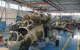 """[ẢNH] Ngạc nhiên khi Ukraine... """"cải lùi"""" trực thăng tấn công Mi-24"""
