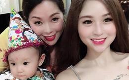 """2 con gái diễn viên Thanh Tú """"cháo lòng"""": Chị là tiếp viên hàng không sắc sảo, em tươi trẻ dịu dàng"""