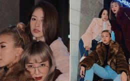 """Đi chơi thôi mà cũng đẹp như chụp bìa tạp chí, Chi Pu - Salim - Quỳnh Anh Shyn không hổ danh là """"vũ trụ"""" hot girl Việt"""