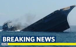 11 người thiệt mạng, mất tích trong vụ chìm tàu chở hàng dài 80m