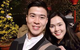 Tiếp bước bạn gái Quang Hải, người yêu Duy Mạnh cũng đang trở thành 'hot girl quảng cáo'?