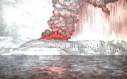 Núi lửa Krakatau rung chuyển thế giới, bằng 10.000 quả bom nguyên tử Hiroshima