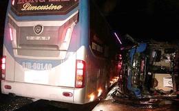 Hai xe khách tông liên hoàn ở Bình Định là cùng một chủ xe