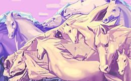 Bạn đếm được bao nhiêu con ngựa trong bức tranh này? Câu trả lời sẽ tiết lộ một số sự thật về chính con người bạn