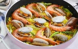 Học người Ý cách nấu cơm hải sản ngon ngất ngây ăn 1 lần là mê say