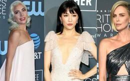 Lộng lẫy và sang chảnh trên thảm xanh, Lady Gaga cùng dàn sao Crazy Rich Asians lại lu mờ vì một nữ thần sắc đẹp