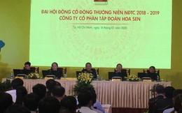 ĐHĐCĐ Hoa Sen Group (HSG): 'Khi nào Cà Ná có giấy phép, tôi xuất chiêu cho quý vị coi'
