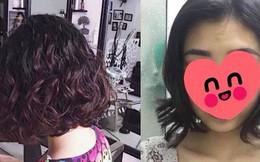 Tóc mới uốn biến thành chổi xể chỉ sau một đêm, thiếu nữ khiến chị em nâng cao cảnh giác màn làm đẹp đón Tết