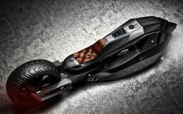 Chiếc môtô siêu tối tân, thiết kế độc lạ có khả năng chống đạn