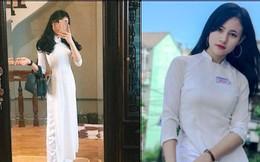Nữ sinh Việt diện áo dài trắng: Người xinh đẹp trong trẻo xuất sắc, người quyến rũ với 3 vòng siêu chuẩn