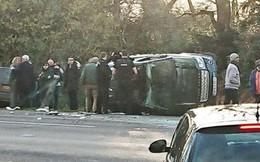 """Phu quân nữ hoàng Anh """"sốc và run rẩy"""" sau vụ tai nạn xe kinh hoàng"""