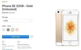 Apple xả kho iPhone SE với giá thấp hơn 100 USD cho bản 32GB và thấp hơn 150 USD cho bản 128GB.