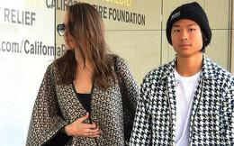 Angelina Jolie xuất hiện gầy gò bên Pax Thiên sau tin Brad Pitt hẹn hò nữ thần còn đẹp hơn cả cô