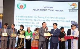"""Việt Nam nhận giải thưởng """"Nhà vệ sinh công cộng ASEAN 2019"""""""