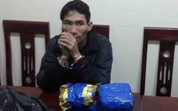 Người đàn ông sa lưới khi mang 8 bánh heroin từ Lào về Việt Nam tiêu thụ
