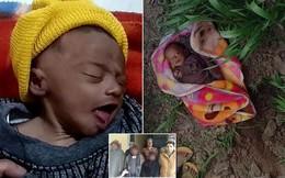 Bé sơ sinh 20 ngày tuổi sống sót kỳ diệu sau 3 tiếng bị mẹ chôn sống, lý do khiến mọi người thêm căm phẫn