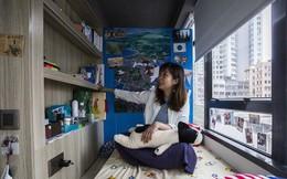 Căn hộ bé nhất Hồng Kông giá 8,4 tỷ đồng nhỏ hơn cả 1 ô đậu xe trung bình