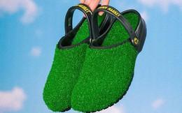Chiêm ngưỡng đôi dép cao su một triệu tư mang vào như đi chân trần trên cỏ