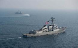 Quân đội Mỹ - Trung liên tiếp nắn gân nhau trên eo biển Đài Loan
