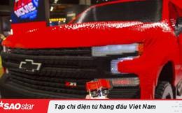 Siêu xe Chevrolet được lắp ráp bằng 334.000 miếng LEGO, mất hơn 2.000 giờ hoàn thành