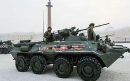 Hoành tráng lễ diễu binh của Nga kỷ niệm 75 năm giải phóng Leningrad