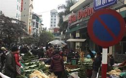 """Cận Tết, chợ lá dong lâu đời nhất Hà Nội """"buồn"""" vì vắng khách"""