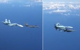 """Tiêm kích Su-27 """"truy sát"""" F-15 của Mỹ vì bám theo máy bay chở quan chức Nga"""