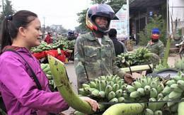 Nhộn nhịp chợ chuối vùng biên lớn nhất Quảng Trị