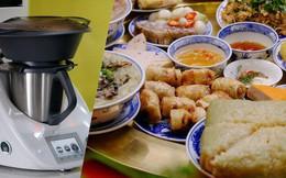 Ăn Tết kiểu rich kid - có hẳn robot nấu luôn cả mâm cỗ xôi gà, canh măng thịnh soạn
