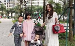 Hội hot mom đón Tết: Hằng Túi xúng xính cùng đàn con đi tiệc tất niên, Huyền Baby chuẩn bị về ngoại ăn Tết