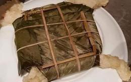 """Một lần thử luộc bánh chưng cho bố mẹ trầm trồ và kết quả cho ra ngay chiếc bánh """"4 chân"""" đáng ghi vào truyền thuyết"""