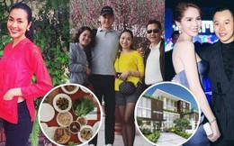 Sao Việt ngày cuối cùng năm Mậu Tuất: Người tất bật nấu nướng cho gia đình, người hào hứng khoe nhà cả triệu đô!