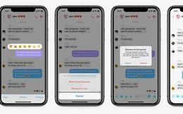 """Facebook Messenger đã cho phép unsend tin nhắn hoàn toàn, mau vào test với """"gấu"""" cũ thử xem"""