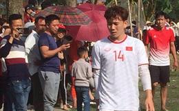 Nhân dịp về nhà ăn Tết, Minh Vương khai xuân bằng trận đấu với đội bóng quê hương