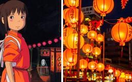 """Lễ hội đèn lồng Nhật Bản lung linh như """"Vùng đất linh hồn"""" đời thực khiến fan anime mê mẩn"""