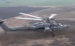 Trực thăng tấn công Nga thực hành tiêu diệt tăng thiết giáp từ kinh nghiệm ở Syria